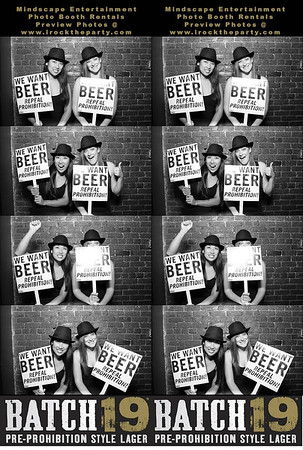 Batch 19 Lager Beer Promotion @ Barney's Beanery - Photo Booth Pictures