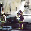 Debbie Blank | The Herald-Tribune<br /> Firefighters spend hours each month training to respond to incidents like this.
