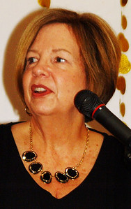 """Jane Yorn said Distinguished Service Award recipient Mary Dickey """"will give every commitment 210%."""""""