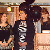 Will Fehlinger | The Herald-Tribune<br /> Bonnie Pratt (from left), Rocio Whitelock, Mayra Adams, Joy Lake and Mark Stenger accepted the Organization of the Year Award for the Hispanic Community Advisory Committee.