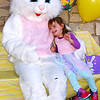 Diane Raver | The Herald-Tribune<br /> Annalise Martin, 3, was very excited to meet the Easter Bunny.