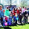 Diane Raver | The Herald-Tribune<br /> A large crowd joined in the fun at Liberty Park April 8.