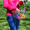 Diane Raver | The Herald-Tribune<br /> This young lady arranges eggs in her basket.