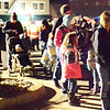 Diane Raver | The Herald-Tribune<br /> There was a huge line to see Santa.