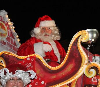 Baton Rouge Downtown Christmas Parade 12-8-12