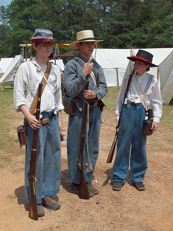 Battle of Wilson's Store 145th Anniversary Reenactment
