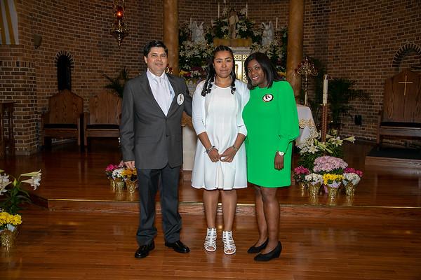 Bautizo De Nuestros Hijos Heidi, Anthony y Destiny
