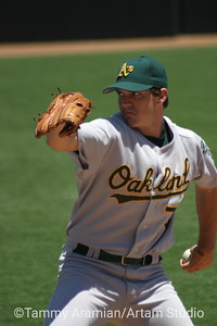 Barry Zito, Oakland A's, PacBell Park June 28, 2003