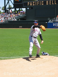 Tom Glavine, New York Mets, PacBell Park, May 18, 2003