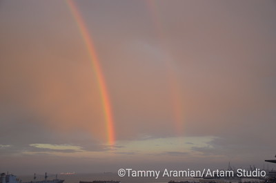 Giants-AZ Sep 2012 rainbow