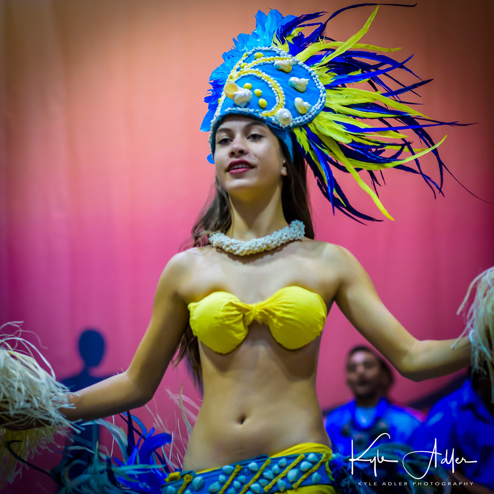 Traditional dances from the Cook Islands