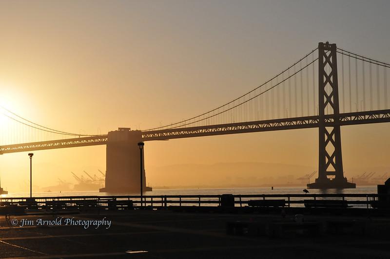 Bay Bridge at Dawn
