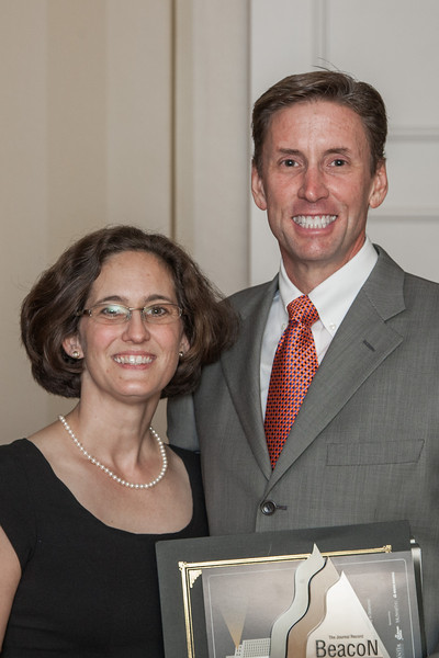 John Gladden served as a presenter at the 2012 Beacon Awards held at the Skirvin Hotel.