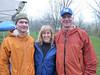 Tom, Julie (our EMT) and Tom