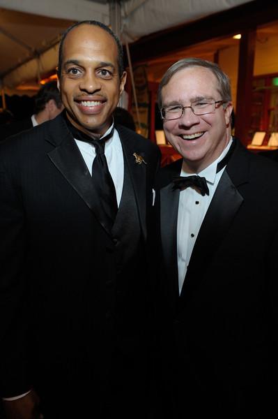 James Harris, Raymond King (Zoo Atlanta CEO) (VIPs)