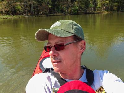 Selfies on the reservoir!