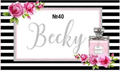 Becky's 40th Birthday