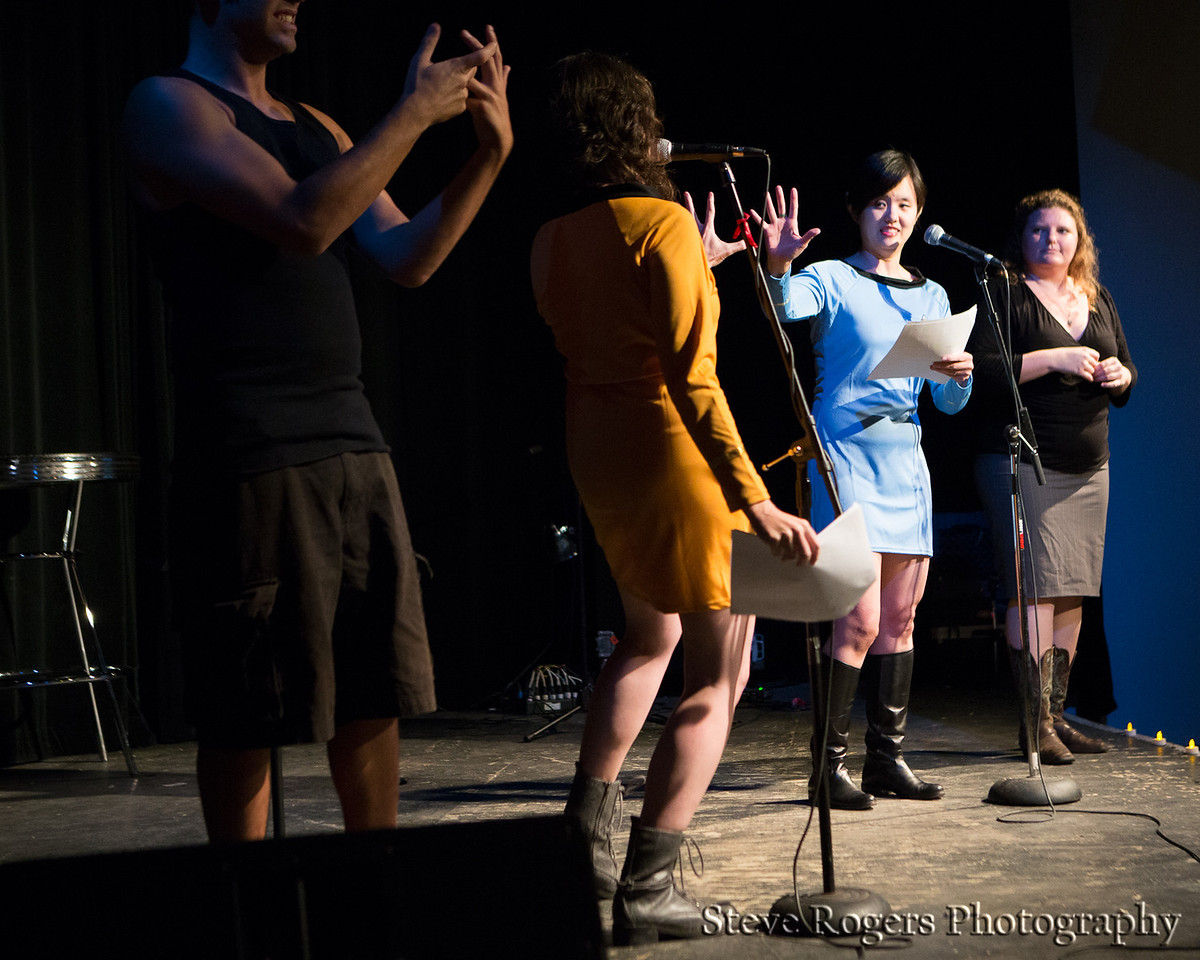 Please join us for our very special Second Anniversary Show where we will be reprising some of our favorite performances from the past two years. <br /> <br /> Including performances by Bret Beene, author Irwin Tang, cellist Jen Mulhern, professor Andy Campbell, author Sophia Agapedis, the hilarious F*Bomb, and Sara and Karen with their sexy Star Trek slash-fiction, this show is sure to tickle, titillate and torture-tease even the foxiest folks.