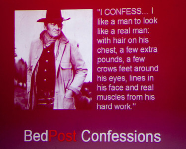 Bringing the smut to Austin is BedPost Confessions, live at the 29th Street Ballroom on July 14th.