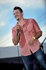 Bedford BBQ and Blues Fest<br /> JOSH WEATHERS smiles as he gets the crowd motivated to get up and dance.
