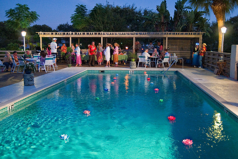 Pool party, Beekman Lakes, Sarasota Florida
