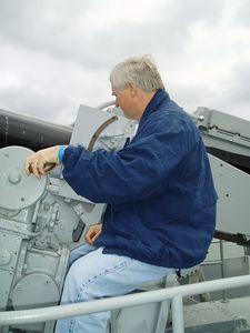 Jerry on front gun (take 2)