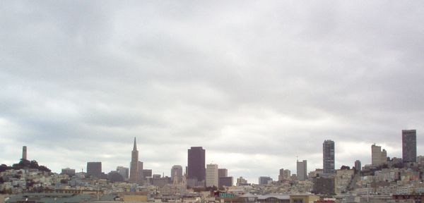 City of San Francisco from the deck of the O'Brien