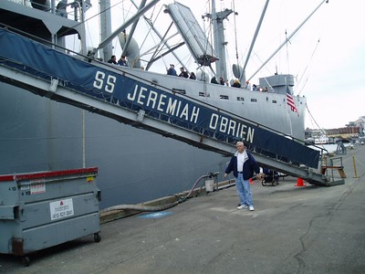 The SS. Jeremian O'Brien at dock