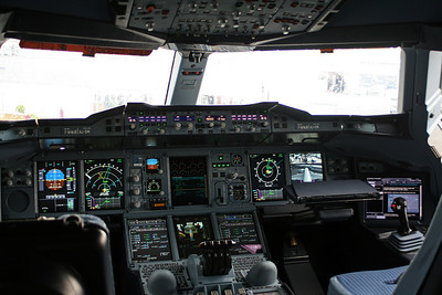 Cockpit of the A380