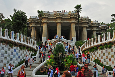 Park Guell - designed by Gaudì