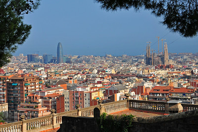 Barcelona with the Sagrada Familia