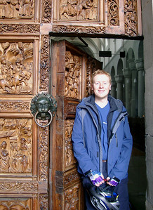 Stefan at a church in Konstanz