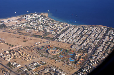 Sharm-el-Sheikh: puerly touristic