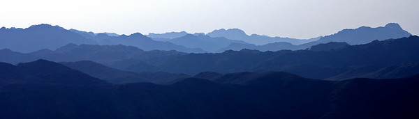 Mountain panorama of Dahab