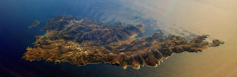 Flight from Munich to Sharm-El-Sheikh - mediterrean island