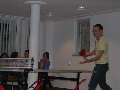Table tennis tounament