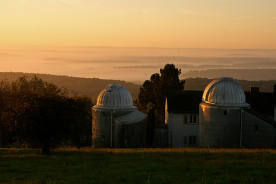 The observatory at sunrise