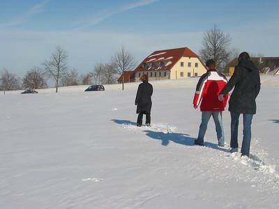 A short stroll during lunch break