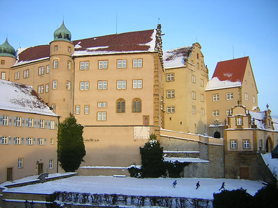 Schloss Kapfenburg, where our rehearsals take place