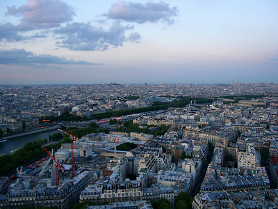 On top of Tour Eiffel