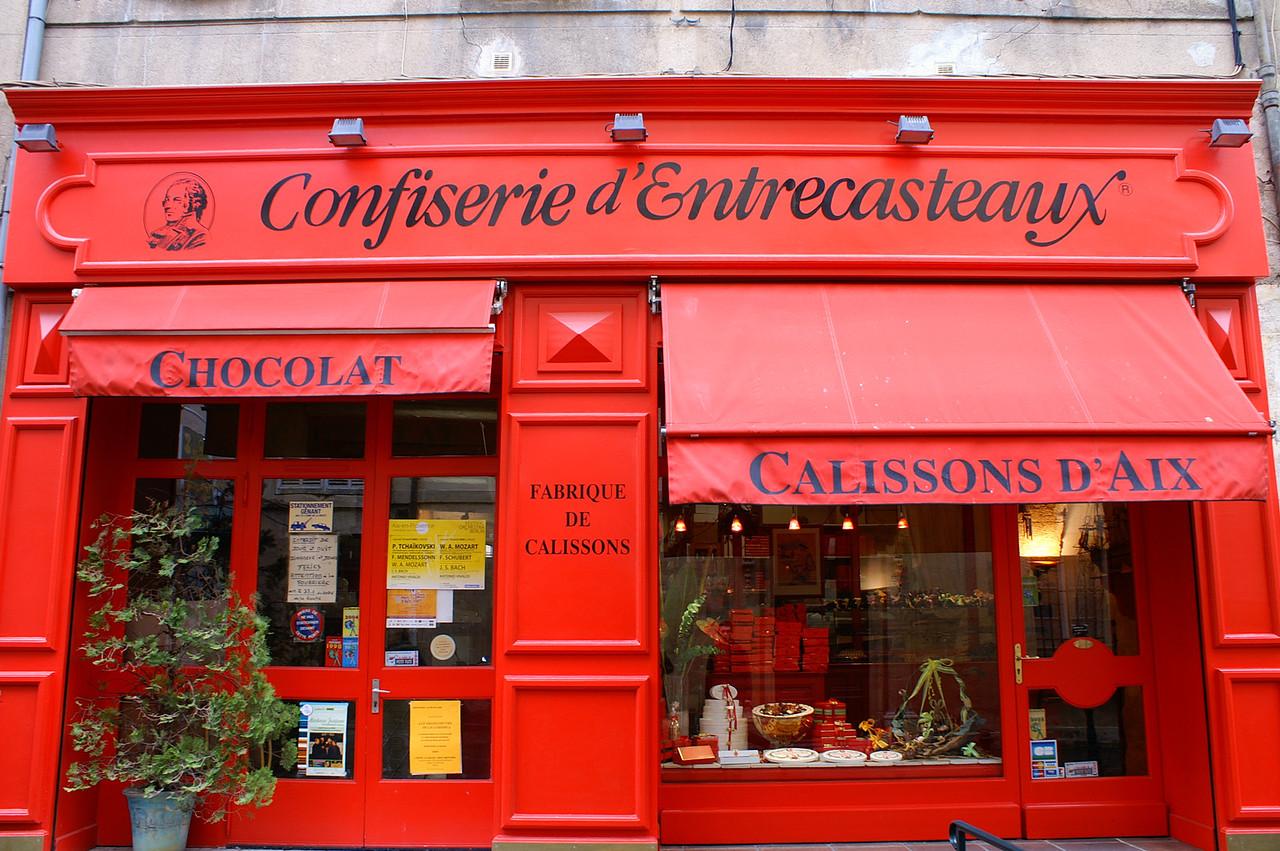 The famous Calissons of Aix-en-Provence