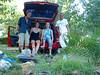 Some guys we met at the camping in Sidari