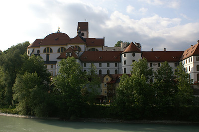 St. Mang and Hohes Schloss in Füssen