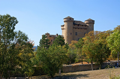 Castle in Millau