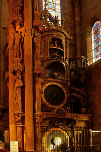 Astronomical clock in the cathedral