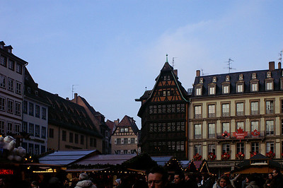 Christmas market in Strasbourg