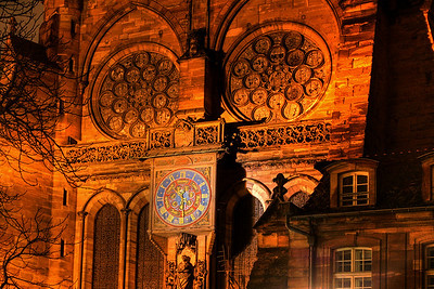 Strasbourg at night