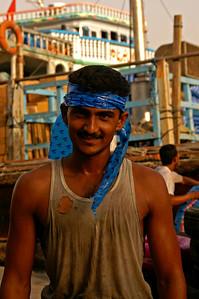 A dock worker