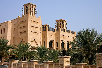 Souq Madinat, a reconstructed souq in western Dubai