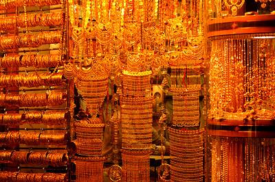.Gold souq in Deira